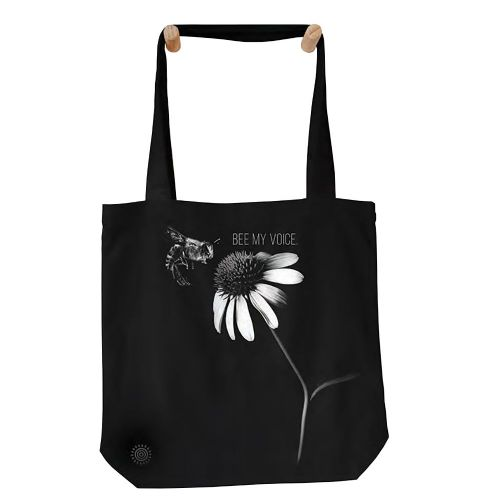 Bee My Voice Tote Bag - The Mountain®